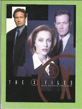 THE X FILES SEASON 8 #XF8-1 + XF8-2 PREMIUM PROMO CARDS *DEALER ONLY*