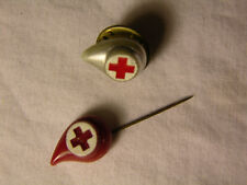 RED CROSS Blood Donor PINS Vintage 80's Collectible Set
