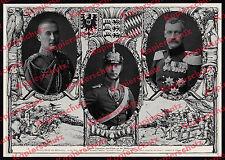 Heerführer Aristokratie Adel Wappen Sieg Westfront Wittelsbach Hohenzollern 1914