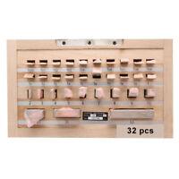 YUSHI Steel Metric Gage Block Set 32 Pcs Grade 0 Slip Jo blocks 1.005-50mm