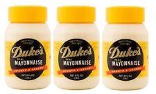 Duke's Real Mayonnaise Smooth & Creamy 3 Jar Pack