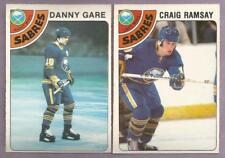 1978-79 OPC O-PEE-CHEE Buffalo Sabres Team Set