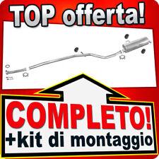 Scarico Completo PEUGEOT 206 1.1 1.4 2-Volumi 1998-2001 Marmitta +Tubo F16