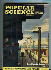 Popular Science Magazine July 1947 New Plans For Panama 063017nonjhe2
