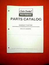 CUB CADET COMPACT TRACTOR FRONT LOADER ATTACHMENT MODELS 416 & 417 PARTS MANUAL