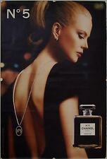 Affiche N° 5 Chanel 2005 NICOLE KIDMAN - 120x177 cm abribus