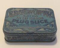 Vintage Edgeworth Plug Slice Smoking Tobacco Advertising Tin Larus Richmond VA