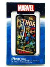 Thor iPhone 4 4s Clip Case Disney Theme Parks Exclusive w/Screen Guard & Cloth