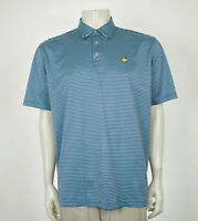 Masters Collection Augusta National Blue Golf Polo Shirt Mens Sz XL