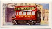 1907 Dion Electric Onmibus England Tramway Vintage Trade Ad Card