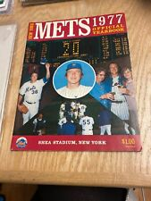 1977 New York Mets Official Yearbook