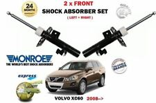 FOR VOLVO XC60 D3 D4 D5 T5 T6 AWD 2008-> 2x FRONT LEFT RIGHT SHOCK ABSORBER SET