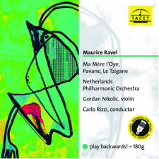 TACET | Carlo Rizzi - Ravel: Ma Mere l'Oye, Tzigane 180g LP