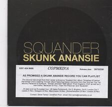 Skunk Anansie-Squander Promo cd single