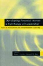 Developing Potential Across a Full Range of Leadership TM: Cases on Transaction
