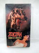 New Sealed Zoltan Hound of Dracula VHS Republic Pictures Lumiere 1978 Horror