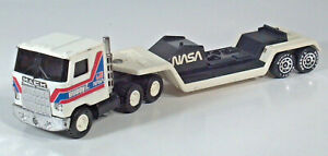 "Vintage 1979 Buddy L NASA Mack Semi Truck Hauler Carrier 10.5"" Scale Model"