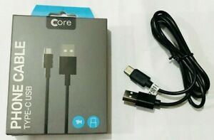 NEW GENUINE  CORE CABLE Samsung S8,S8 Plus,S9,S10,S10+ Type C USB Fast Charge