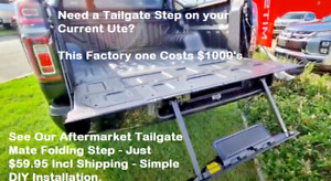 Tailgate Mate - Rear Fold-out Tailgate Step - Ute 4x4 SUV Tray Multiple uses Etc