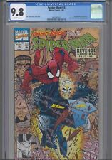 Spider-Man #18 CGC 9.8 1992 Marvel Comics 1st App Cyborg X, Ghost Rider App