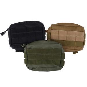 Tactical Molle Pouch EDC Multi-purpose Belt Waist Pack Bag Utility Phone Pock-qk