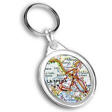 Keyring Circle - La Spezia Europe Italy Italian Travel Map  #45516