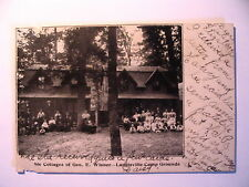 Cottages of George Wisner & People Landisville Camp Grounds Landisville PA 1908