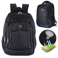 Men's Travel 17inch Laptop Backpack Shoulder Bag Hiking School Bag Rucksack New