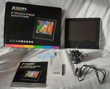 """JESSOPS 8"""" SLIMLINE DIGITAL PICTURE FRAME"""