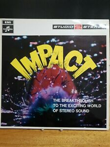 Various Impact LP Columbia STWO2 EX/EX 1970s with Acker Bilk & Stan Tracey, Impa