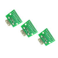 3PCS USB 3.0 Female To DIP 2.54mm Board Module 9pin Adapter Converter
