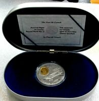 1995 Canada silver & gold $20 Dollars Aviation THE FLEET 80 CANUCK proof