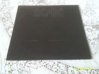 AC/DC. BACK IN BLACK.  ATLANTIC. SD 16018. 1980. RARE FIRST US PRESSING.