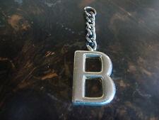 Alphabet Letter B---Keychain Charm