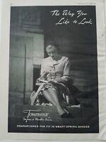 1949 womens legs Townwear hosiery stockings vintage fashion ad
