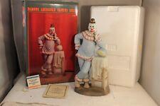 "Flambro Famous American Clown Paul Jung Porcelain 10"" Figurine 0702/9500"