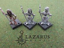Warhammer Vampire Counts AoS Death - 3 Undead Skeletons (Marauder era oop metal)