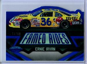 2016 Panini Certified Famed Rides MIRROR BLUE Parallel Ernie Irvan #17/50