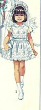 Simplicity Sewing Pattern 8171 Girl's First Communion Dress Size 4 VTG '70's