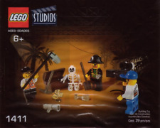 Lego 1411 Studios Pirates Treasure Hunt Film Crew Quaker Oats Promo MISP 2001