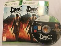 XBOX 360 DMC DEVIL MAY CRY PAL GAME +BOX & INSTRUCTIONS / COMPLETE PAL