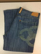 Gino Green Global Hip Hop Baggy Jeans - Medium Wash - Size 40