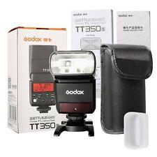 DE Godox TT350S Mini TTL HSS Biltz Blitzgerät für Sony a7RII, a58, a99, RX10