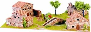 Domus Kit 40204 Modello Kit Villaggio Dihorama 1 Kit Costruzione Pietra (d4r)