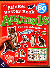 Holland Publishing My Sticker Poster Book - Animals
