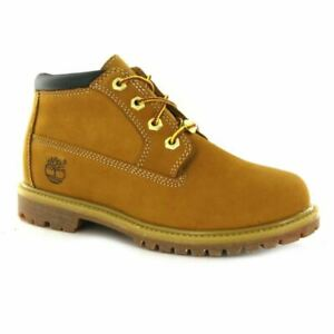 Timberland Nellie Chukka Women's Leather Mid Top Boots 23399 Wheat UK Size 5.5