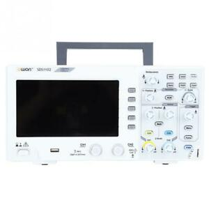 OWON SDS1102 Oscilloscope 2Channel Digital Oscilloscopes 100MHZ 1GS/s Bandwidth