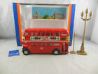 Scarce Tomica Dandy F19 AEC Regent Rt Double Decker Bus Route 53 Oxford Circus