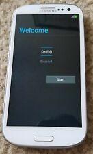Samsung Galaxy S3 SCH-S968C(GP) White Verizon Phone 16GB - Tested - Works Great