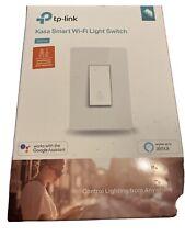 Tp-Link Kasa Smart Wi-Fi Light Switch Works w/ Amazon Alexa & Google Home-Hs200